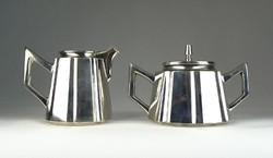 0S235 Antik 800-as ezüst teáskészlet 734g