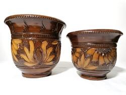 Korondi kaspó 16 és 12 cm (98)