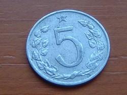 CSEHSZLOVÁKIA 5 HALERU 1963 ALU.