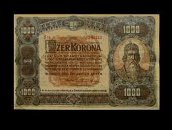 1000 KORONA - 1920 - AZ EGYIK LEGSZEBB KORONA!