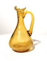Színes üveg kancsó 12 cm (149)