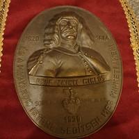 Zrínyi Miklós emléktábla
