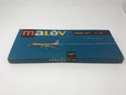 Malév repülő modell doboz, modell nélkül