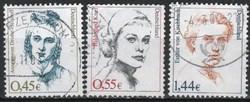 Bundes 1328 Mi 2295-2297        4,60 Euró