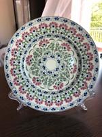 Antik Zsolnay tányér, dísztányér