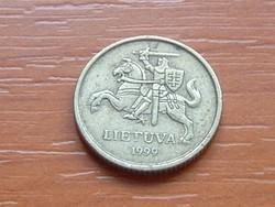 LITVÁNIA 10 CENTU 1999