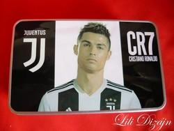 CR7 Cristiano Ronaldo Juventus fém uzsonnás, tároló