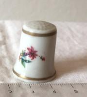 Hollóházi porcelán gyűszű