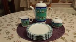 8 részes Rosenthal Studio-Line készlet. Csúcsminőségű porcelán, gyönyörű minta!