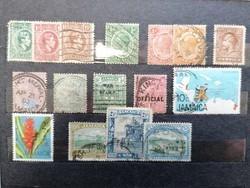 JAMAICA 16db használt bélyeg.