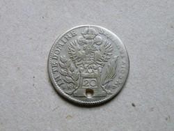 KK477 1765 20 krajcár ezüst érme Lotharingia Ferenc