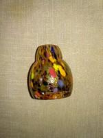 Muránói mini parfümös üveg, miniváza