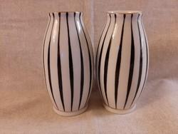Art deco Hollóházi váza 12 cm