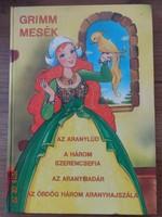 Grimm mesék /4 mese / - Táltos Kiadó - régi mesekönyv Haui József rajzaival