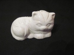 Porcelán macska sószóró borsszóró