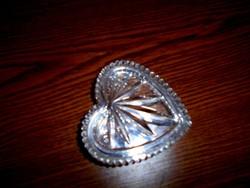 Ajkai kristály ékszertartó (jelzett)