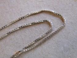 KK490  Szép ezüst nyaklánc 40 cm hosszú