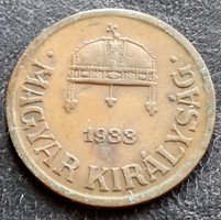 1 Fillér 1933.