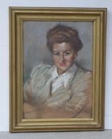 Fried Pál: Hölgyportré