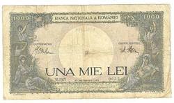1000 lei 1941 Románia 1.