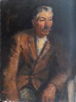 Baranyó Sándor 1950-es években festett képe