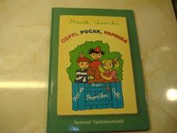 Írta és rajzolta: Marék Veronika  Coffi,, Pocak, Paprika A Móra Könyvkiadónál 1984-ben megjelent el
