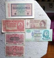 Vegyes bankjegyek