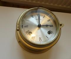 Szép régi hajó óra felesütös harangra szerelöknek tévedés miatt árkorrekció
