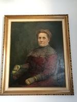 Idős házaspár portréja