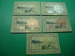 5*60 Heller 1920 Igls in Tirol  5 kiadás , hajtatlan!