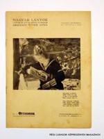 1937 május 2  /  MAGYAR LÁNYOK  /  RÉGI EREDETI ÚJSÁG Szs.:  8005