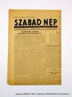 1953 június 4  /  SZABAD NÉP  /  Régi ÚJSÁGOK KÉPREGÉNYEK MAGAZINOK Szs.:  12420
