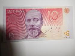 Észtország 10 krooni 2006 UNC
