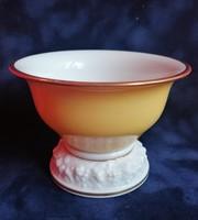 Rosenthal mogyorós tálka. Porcelán, jelzett.