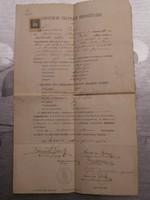 Gimnáziumi érettségi 1910