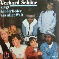 Gerhard Schöne – Singt Kinderlieder Aus Aller Welt  LP bakelit lemez