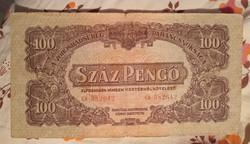 Vöröshadsereg 100 Pengő 1944.bankjegy