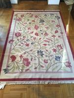 Indiai gyapjú szőnyeg