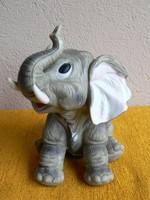 Gilde porcelán elefánt figura