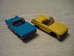 2db autó,a régi Kinder sorozatból