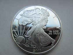 USA Liberty Sas dollar emlék dollár ezüst érme 0.999 1 uncia 31gr