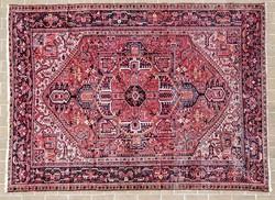 Régi iráni nagy méretű kézi csomózású szőnyeg Tebriz