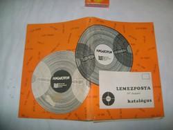 Lemezposta katalógus - 1978