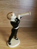 Hollóházi trombitás!