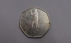 Anglia, 50 Penny 2016.