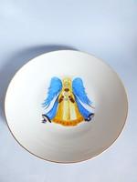Ritka Hutschenreuther tányér,dísztányér Angyal