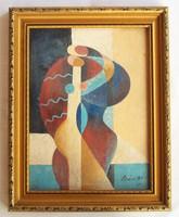 Bán Béla - Vágy című festménye