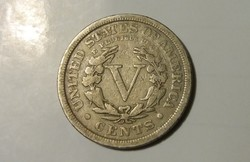 USA 5 Cent 1912.