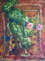 Imre István 66 x 49 cm-es csodálatos akvarellje