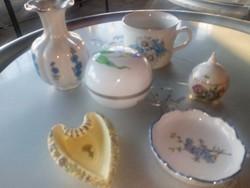 Leárazva Zsolnay herendi porcelánok